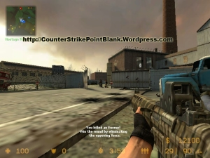 Download Point Blank SSG50S Skin for Counter Strike: Source