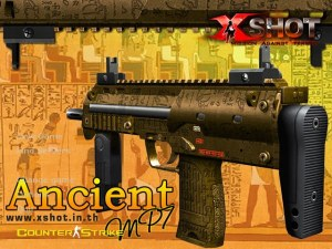 X-Shot Ancient MP7 Background