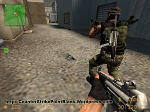 Point Blank K-1 for MP5 in Counter Strike: Source