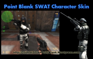 Point Blank SWAT Character Skin for Counter Strike 1.6 and Condition Zero