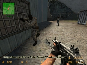 Point Blank K-2 Style for Galil in Counter Strike: Source