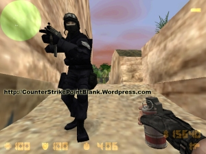 Counter Strike Skin SSAT in game preview